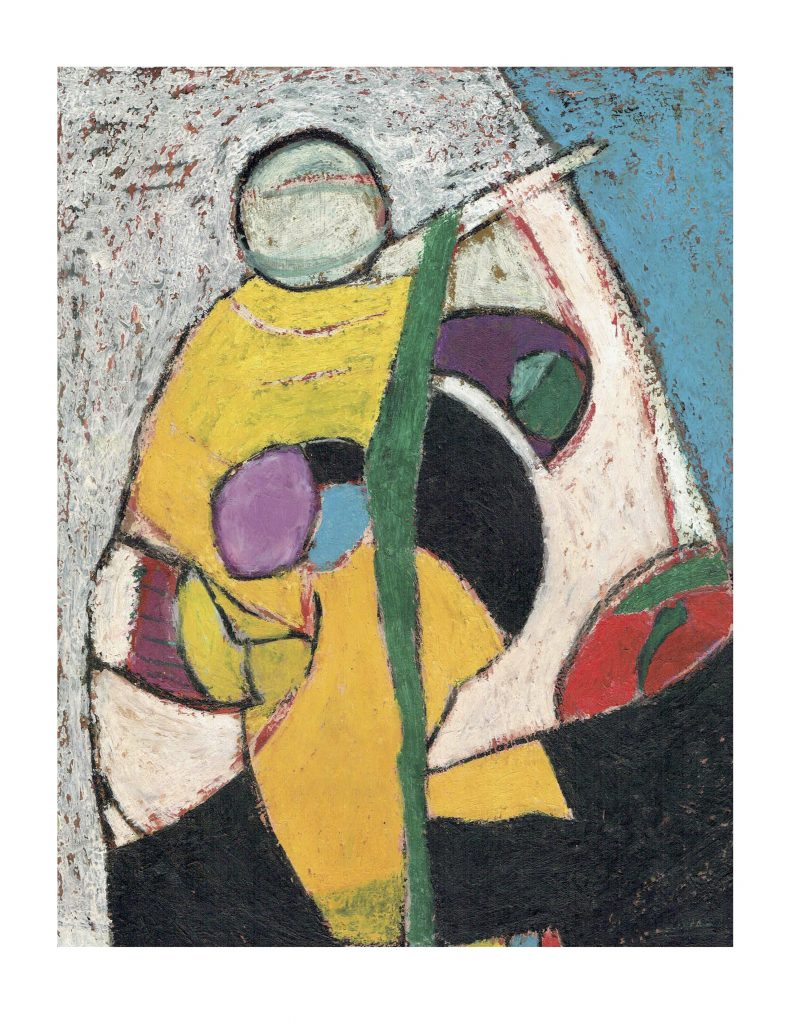 Head balancing a ball (5), April 4, 1977 & Feb 2, 1978, pastel on paper, 22.8 x 30.4 cm