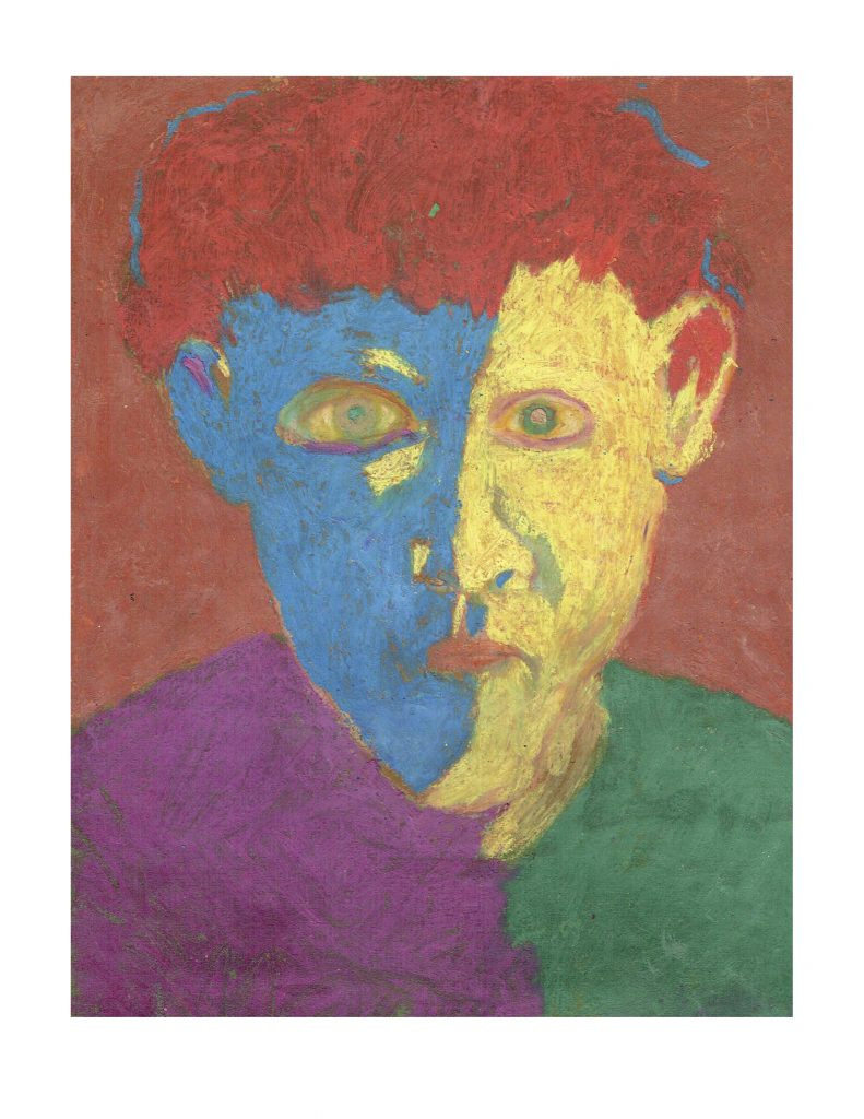 Nobody (17), March 12, 1978, pastel on paper, 22.8 x 30.4 cm