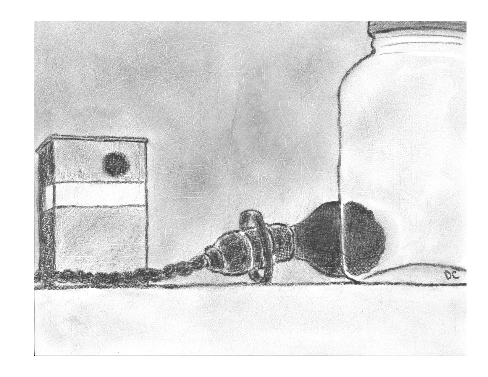 bulb-tin-and-jar-3-jan-1216-pencil-on-paper
