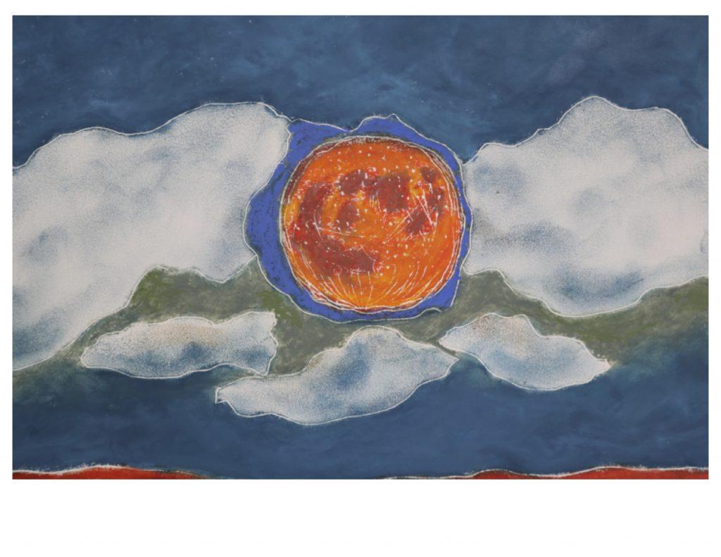 Harvest moon detail