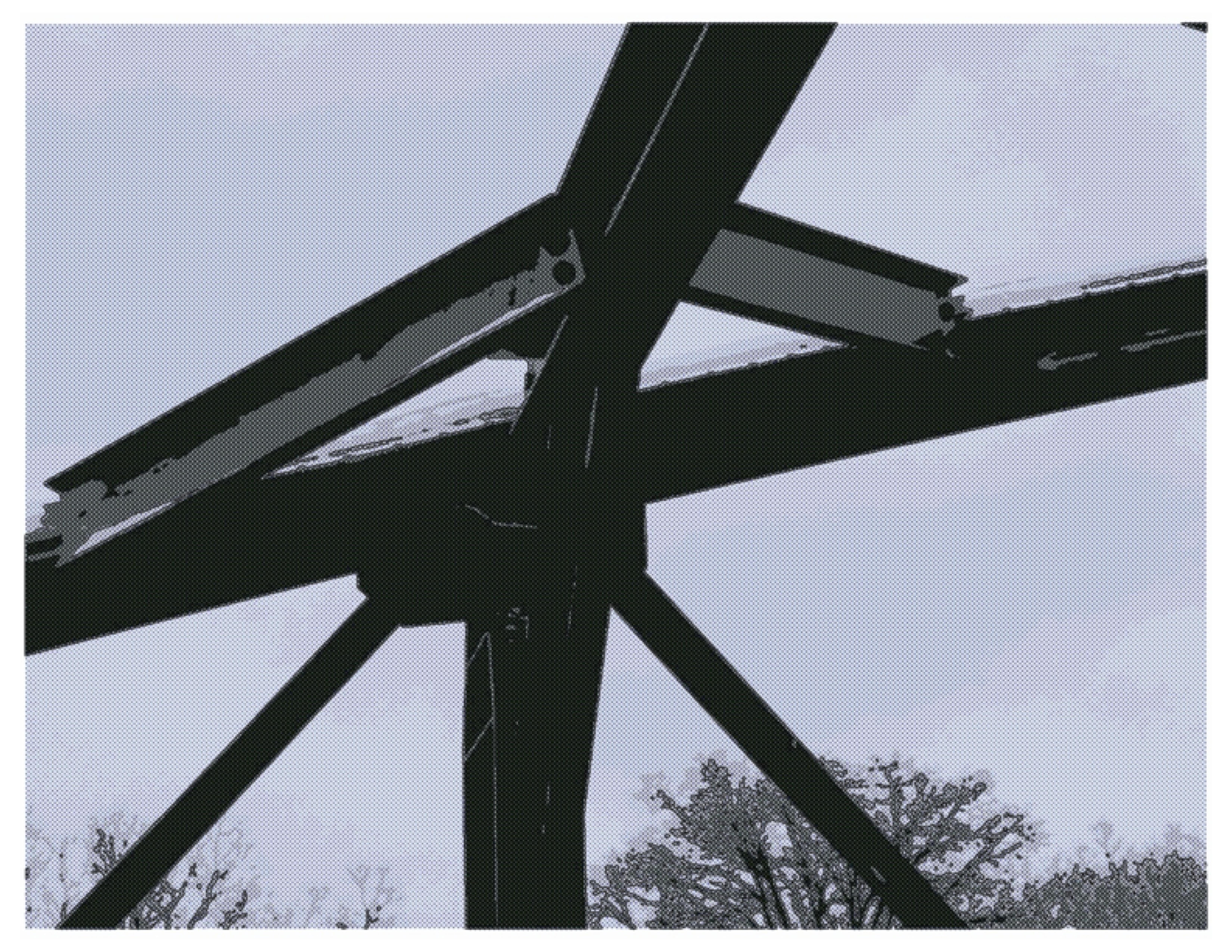 Bridge study 5, computer altered image, Dec 30, 2018